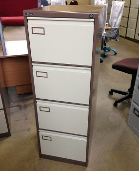 Second hand four drawer filing cabinet