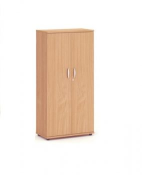 Beech 1600 Double door storage cupboard