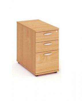 Beech 800 deep desk high pedestal
