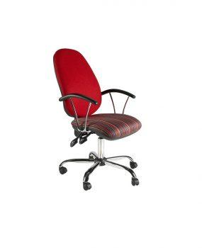 Chrome heavy duty operators chair