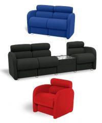 Delfino reception seating