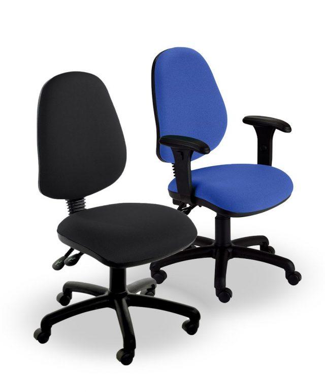 Heavy-duty operator chairs