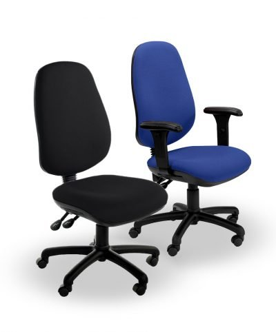 Heavy-duty XL operator chairs