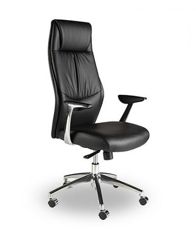 Nevada high back faux leather executive chair
