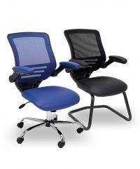 Mesh task chairs