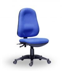 Twin lever operator chairs – Blue