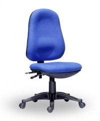 Twin lever operator chair