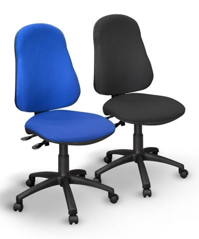 Twin lever operator chairs