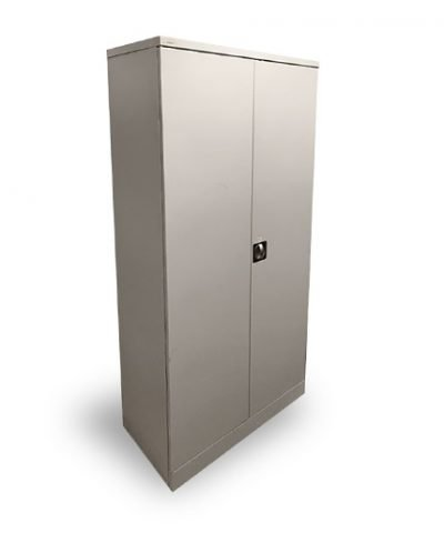6ft Stationery cabinet in grey