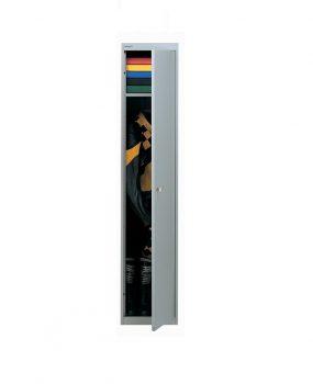 Single door personnel locker