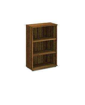 Walnut 1200 bookcase
