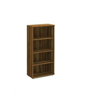 Walnut 1600 bookcase.