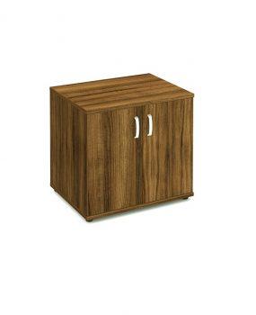 Walnut desk high cupboard