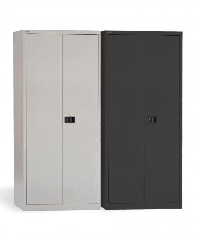 Bisley 1800mm high stationery cupboards