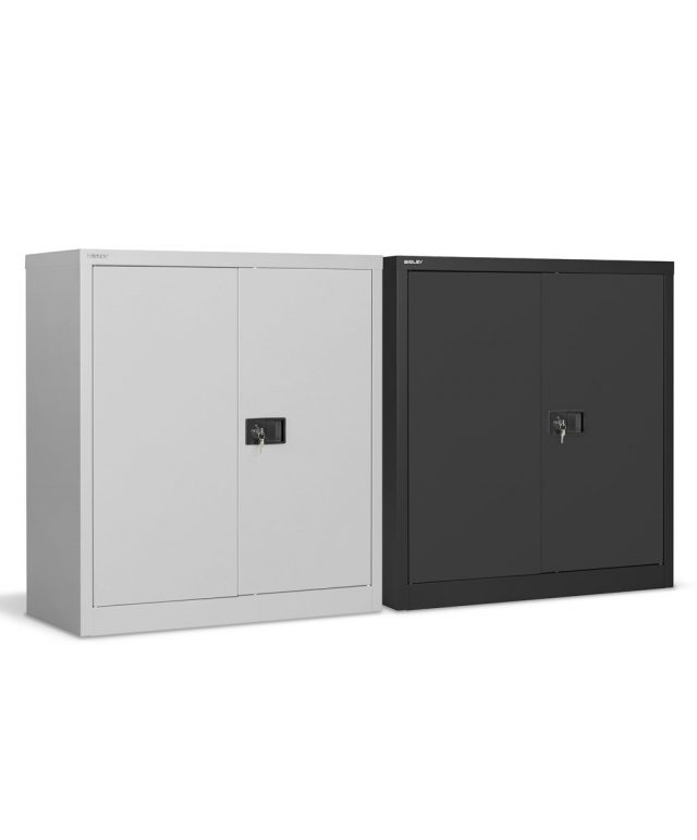 Bisley 1000mm high stationery cupboards