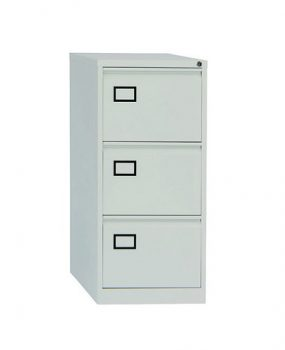 Three drawer Bisley contract filing cabinet
