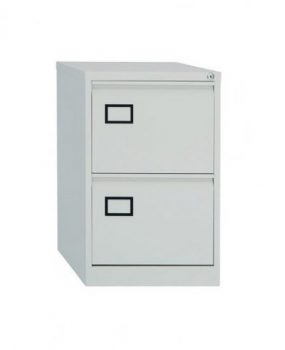 Two drawer Bisley contract filing cabinet