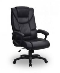 Buster leather effect executive chair