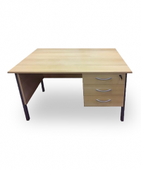 Beech 1200 single pedestal desk