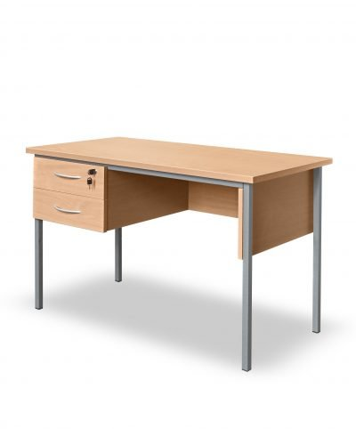 Small desk with two drawer storage