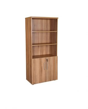 Walnut executive combination cupboard