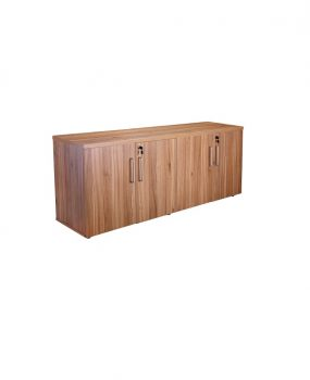 Walnut executive credenza