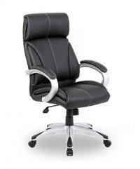 Sunny leather faced executive chair