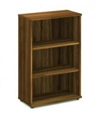 Walnut 1200 bookcase