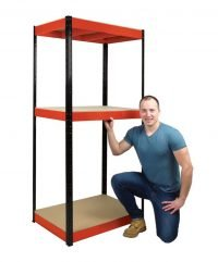 3 shelf racking unit