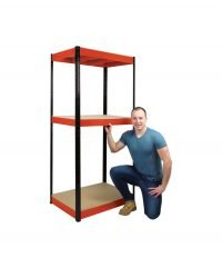 3 shelf racking unit