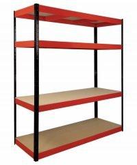 4 shelf racking Heavy duty