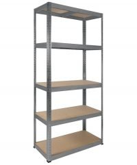 5 shelf racking unit 900 width