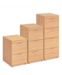 Beech filing cabinets
