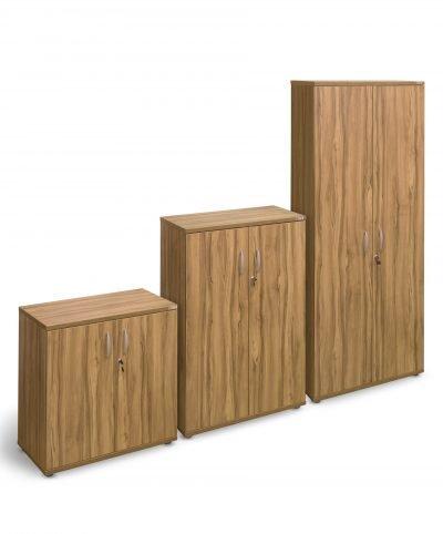 Walnut 800mm wide cupboards