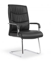 Carter luxury faux leather chairs – Cantilever
