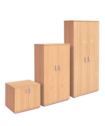 Beech 800mm wide cupboards