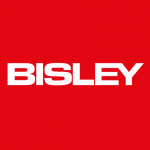 Bisley sliding single door stationery cupboards
