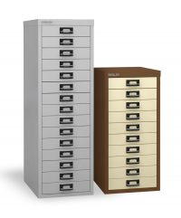 Bisley multi-drawer storage