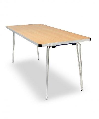 Contour folding table