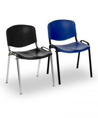 Genie metal framed stacking chairs