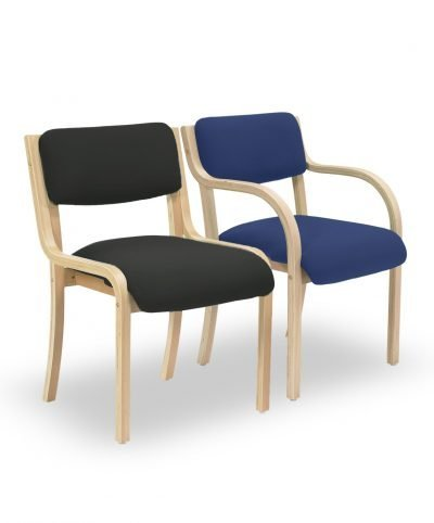 Light beech side chairs