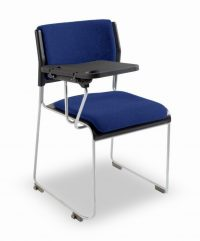 Notetaker education chair with tablet