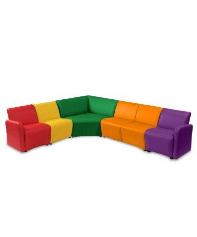 Junior modular reception seating