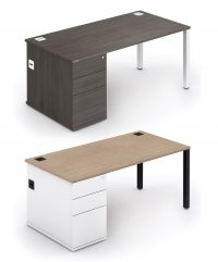 Rectangular combination workstations