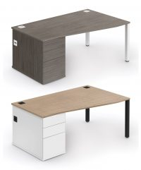 Wave combi workstation with built-in storage