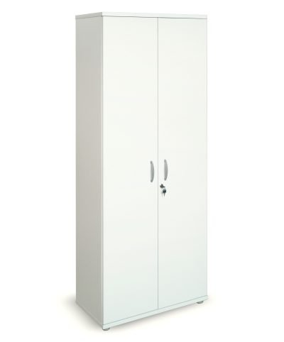 White 2000mm high cupboard