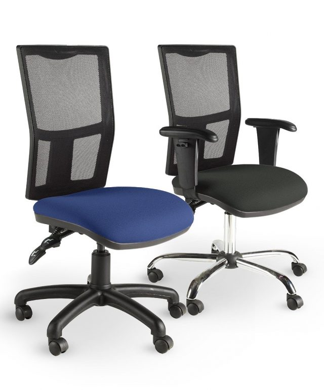 Zoom mesh operator chairs