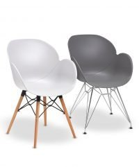 Ambrose poly armchairs